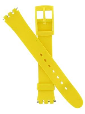 Swatch Replacement 13mm Yellow PVC Watch Band