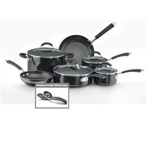 Farberware Cookware 10569 FW Millennium 12PC NSAlum Blk