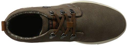 Hommes Haute Bugatti Brun 322284011400 taupe Sneaker FqHwFtr4x