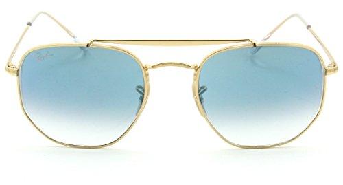 Ray-Ban RB3648 Marshal Gradient Unisex Metal Sunglasses 001/3F - 51mm (Best Marshall For Metal)