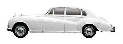 1/43 ロールスロイス シルバークラウドIII 1963年 ホワイト TSM124370