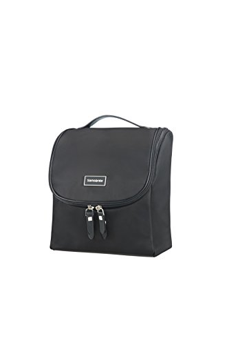 (SAMSONITE Karissa Cosmetic Cases - Hanging Toilet Organiser Toiletry Bag, 23 cm, Black)