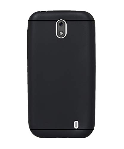 Coverage Back Cover for Nokia 1   TA 1066   Black