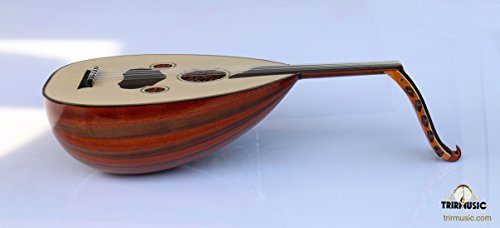 Turkish Quality Walnut And Mahogany String Instrument Oud Ud by trirmusic