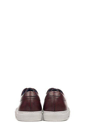 ANDREA ZORI HOMME 545580139040 ROUGE CUIR BASKETS