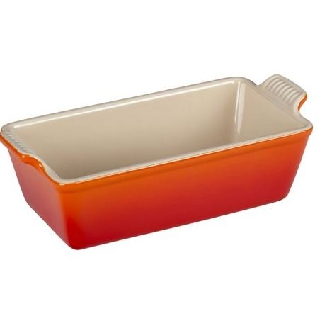 MD Group Nearly-nonstick Glazed Interior Loaf Pan Bread Baking cake Stoneware Meatloaf Cleaning Dishwasher-Safe