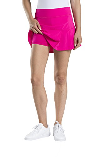 Etonic Women's Stretch Woven Tennis Skort, Cosmos Pink, - Cosmo Is Color What