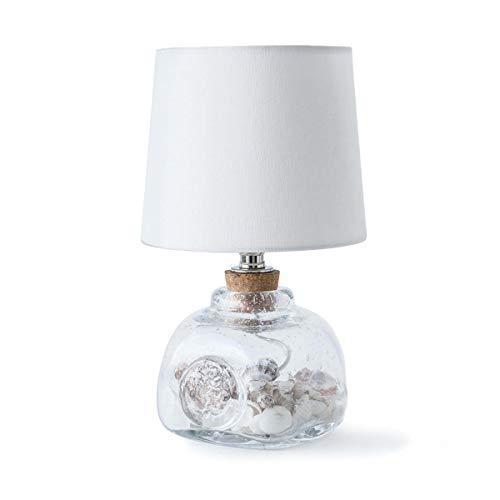 Regina Andrew Signature Keepsake 60 Watt Max Clear and Glass 1 Socket Mini - Decorative Table Lamp ()