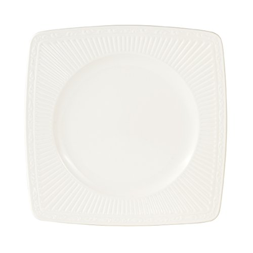Mikasa Italian Countryside Square Dinner Plate, 10.75-Inch (Countryside Square Italian Plate Dinner)