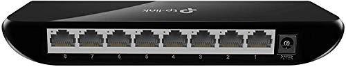 TP-Link 8 Port Gigabit Ethernet Network Switch | Ethernet Splitter | Plug-and-Play | Traffic Optimization | Unmanaged…