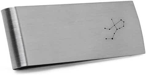Virgo Money Clip   Stainless Steel Money Clip Laser Engraved In The USA.