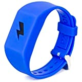 Pavlok 2 Colored Silicone Band - Fits All Pavlok 2 and Shock Clock Devices (Blue)