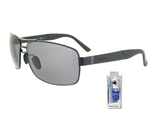 Gucci 2234/S Rectangular Sunglasses Bundle-2 Items