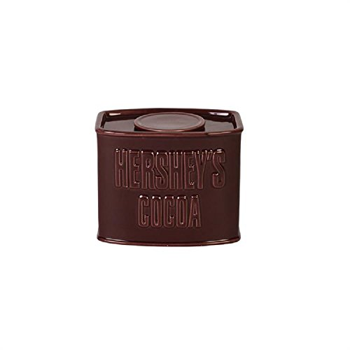 Fitz and Floyd 12 Ounce Hershey's Syrup Cocoa Sugar Serveware Maroon