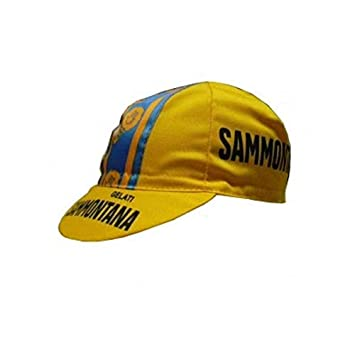 Apis Gorra Ciclismo Team Vintage Sammontana Cycling Cap Hot by Pro ...