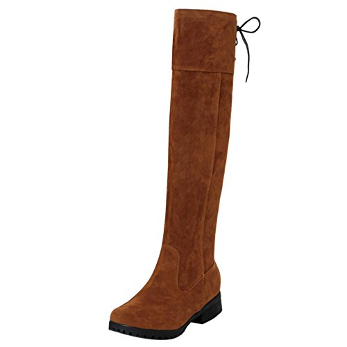 Boots COOLCEPT On Brown Pull Women Long zwqwEpgr