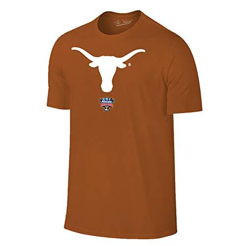 san francisco 0e47a c8ea4 Elite Fan Shop Texas Longhorns Sugar Bowl Tshirt 2018 Icon Orange - M