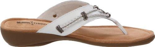 Shoes Minnetonka White Women's Weiß Baby Silverthorne Bianco prtn0qwrR