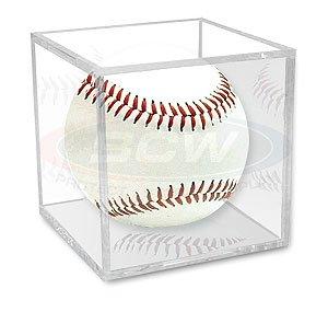 BallQube Baseball Display - Case Baseball Plastic