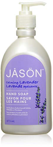 JASON Calming Lavender Hand Soap, 16 Ounce Bottle