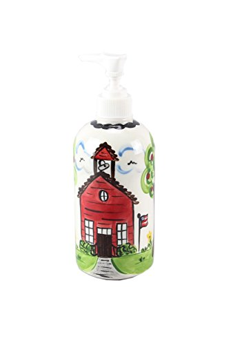 (Young's Ceramic School House Lotion Pump, 7.5