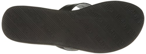 Wedge Allie Noir Lindsay Phillips Femmes Sandal PEwSq