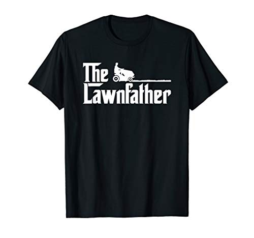 Mens The Lawnfather funny lawn mowing ()