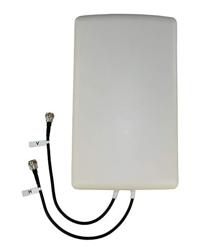 Proxicast 4G/LTE Cross-Polarized (MIMO) 7-10 dBi High-Gain Fixed-Mount Panel Antenna (Renewed)