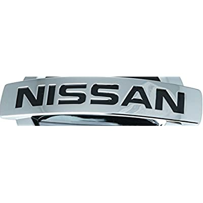 Bully CR-690WD Licensed Nissan Logo Truck Trailer Tow Hitch Receiver Cover Exterior Accessories fits 2 Inch Receivers and Plugs - Genuine Licensed Accessory: Automotive