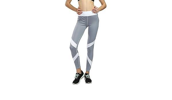Yangxuelian Pantalones de Running para Mujer Mujer Deportes ...
