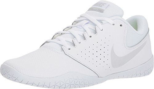 Nike Women's Sideline IV Cheerleading Shoe White/Pure Platinum Size 8.5 M US