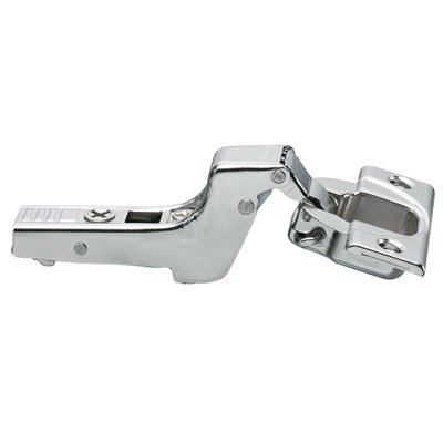 1/2' Overlay Self Closing Cabinet - Blum 110 Degree Full Cranked Clip Top Screw-On Self Closing Cabinet Hinge (25 Pack)
