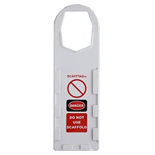 Scafftag White Holders (60 Pack) by Brady