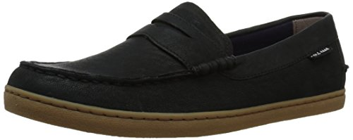 Cole Haan Men's Nantucket Loafer II, Black Oiled Nubuck, 8 Medium US