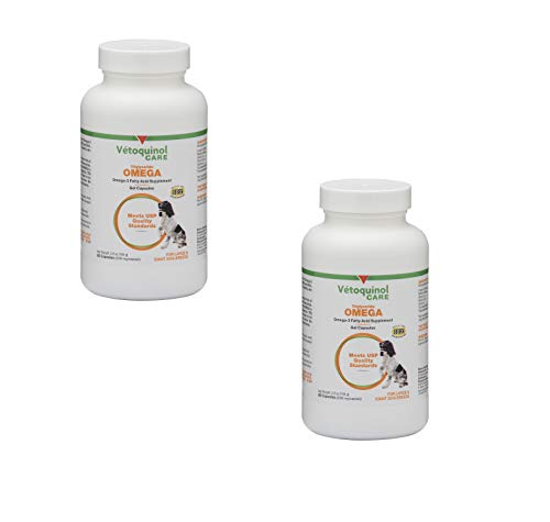 - Tri-Omega Fatty Acids for Large and Giant Breeds, 60 Capsules (2 Pack (60 Count))