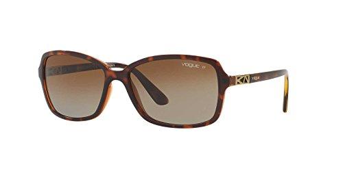 Vogue Eyewear Womens Sunglasses (VO5031) Tortoise/Brown Plastic - Polarized - 58mm
