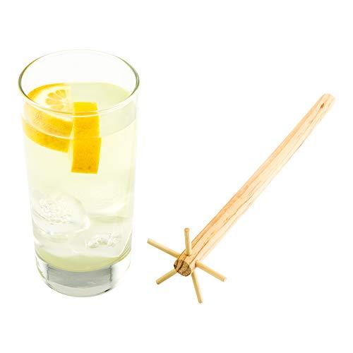 "Wooden Swizzle Stick, Bar Swizzle - 11.25"" - Pinewood - Commercial Grade - 1ct Box - Restaurantware"