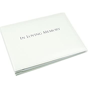 amazon com in loving memory book condolence book funeral guest