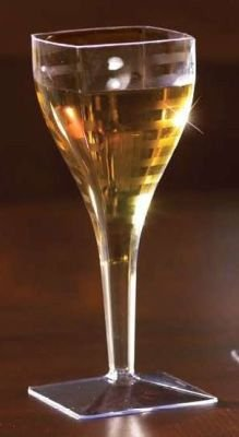 EMI Yoshi Squares Wine Glass, 8-Ounce ()