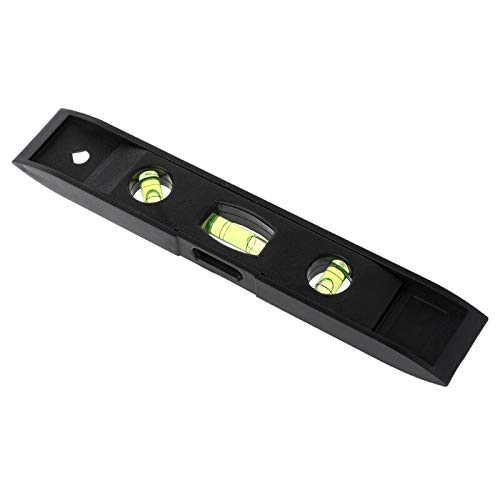Level Measuring Instruments - 230mm Spirit Level Ruler Precision 45 Degree Vertical Horizontal Abs Shell 3 Bubble Measuring - Ruler Level Level 45 Level Level Ruler Mi 45 Ruler Level Level B