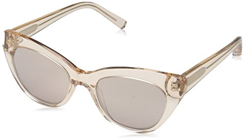 Elizabeth and James Women's Vale Cateye Sunglasses, Crystal Tea, 52 mm