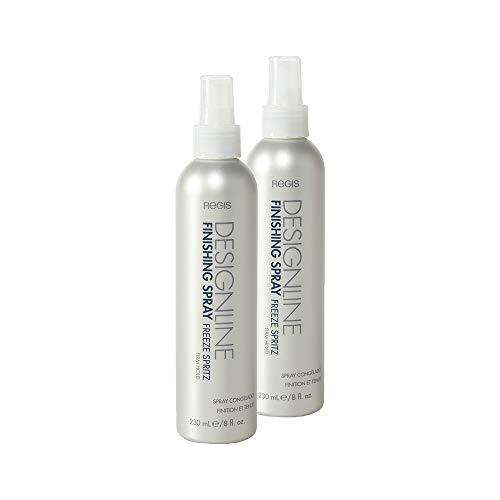 Finishing Spray Freeze Spritz 55% VOC, 8 oz - Regis DESIGNLINE - Firm Hold Strengthening Non-Aerosol Hairspray (2 Pack)