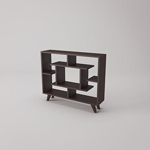 Bookshelf Unit (Bell Modern Bookcase 35'' x 30'' x 9'' / Shelving Unit / Bookshelf)