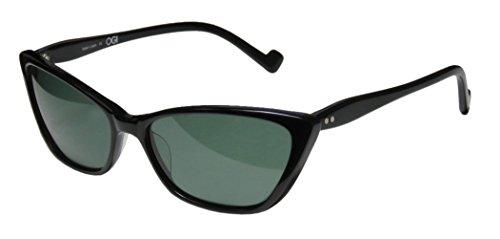 Ogi 8047 Womens/Ladies Cat Eye Full-rim 100% UVA & UVB Lenses Sunglasses/Eyewear (56-16-140, - Sunglasses Ogi