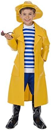 Banyant Toys Disfraz Capitan Pescador 10-12 años: Amazon.es ...
