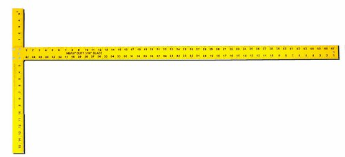 Drywall T-square (Task Tools T58048 48-Inch Heavy Duty Aluminum T Ruler)