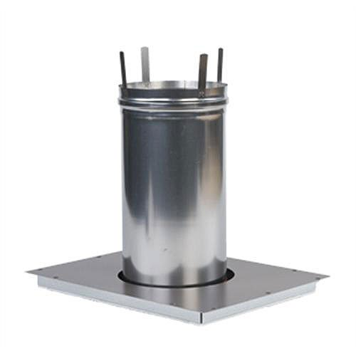 Hayward Indoor Heater - Hayward UHXPOSHZ14001 Positive Pressure H400fd Indoor Vent Adapter Horizontal Replacement Kit for Hayward Universal H-series Low Nox Gas Heaters