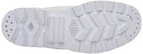 de Caña Blanc White Botas White Mujer PalladiumBaggy Desert Forradas Media Blanco tRw4P6qxE