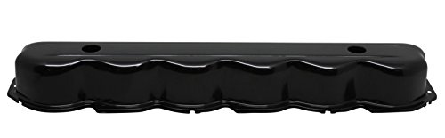 1965-89 Compatible/Replacement for FORD 240-300 STRAIGHT/INLINE 6 CYLINDER STEEL VALVE COVER - BLACK ()
