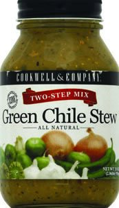 Cookwell & Company Two-Step Green Chili Stew Mix 33.0 OZ (Pack of 6) by Cookwell & Co